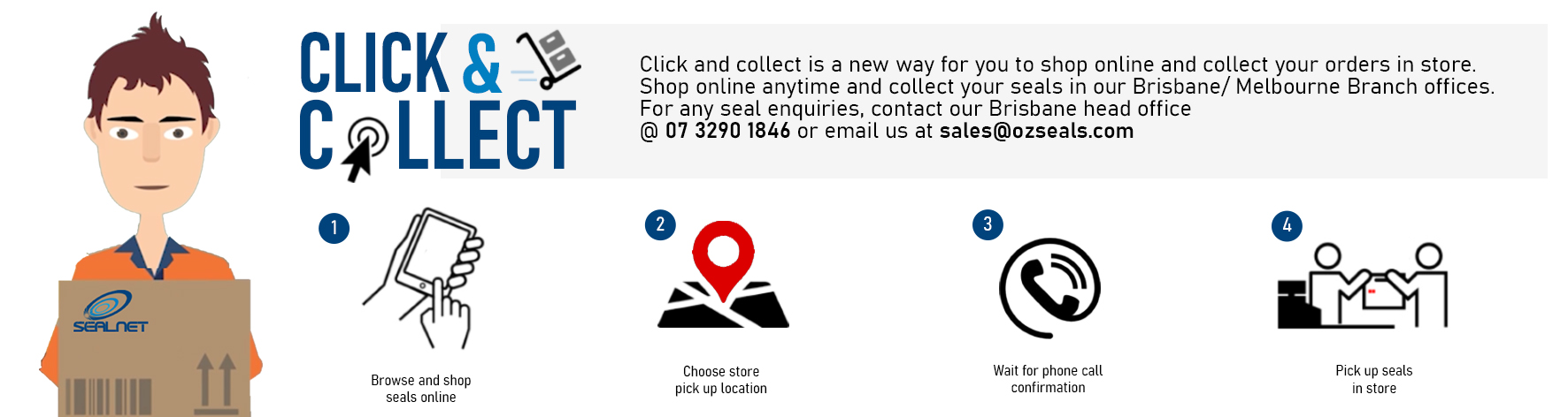 Sealnet Shop Click and Collect